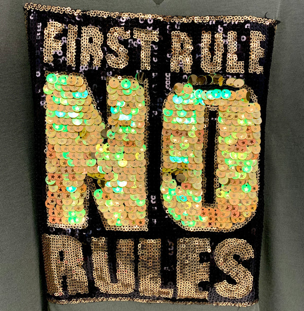 First Rule NO Rule Tank
