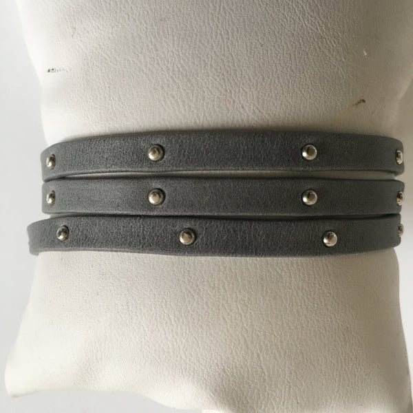 Triple Wrap Bracelet Leather Bracelet
