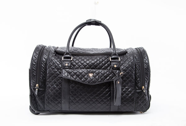 PurseN VIP Quilted Wheel Duffle