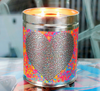 One Love Tin Candle