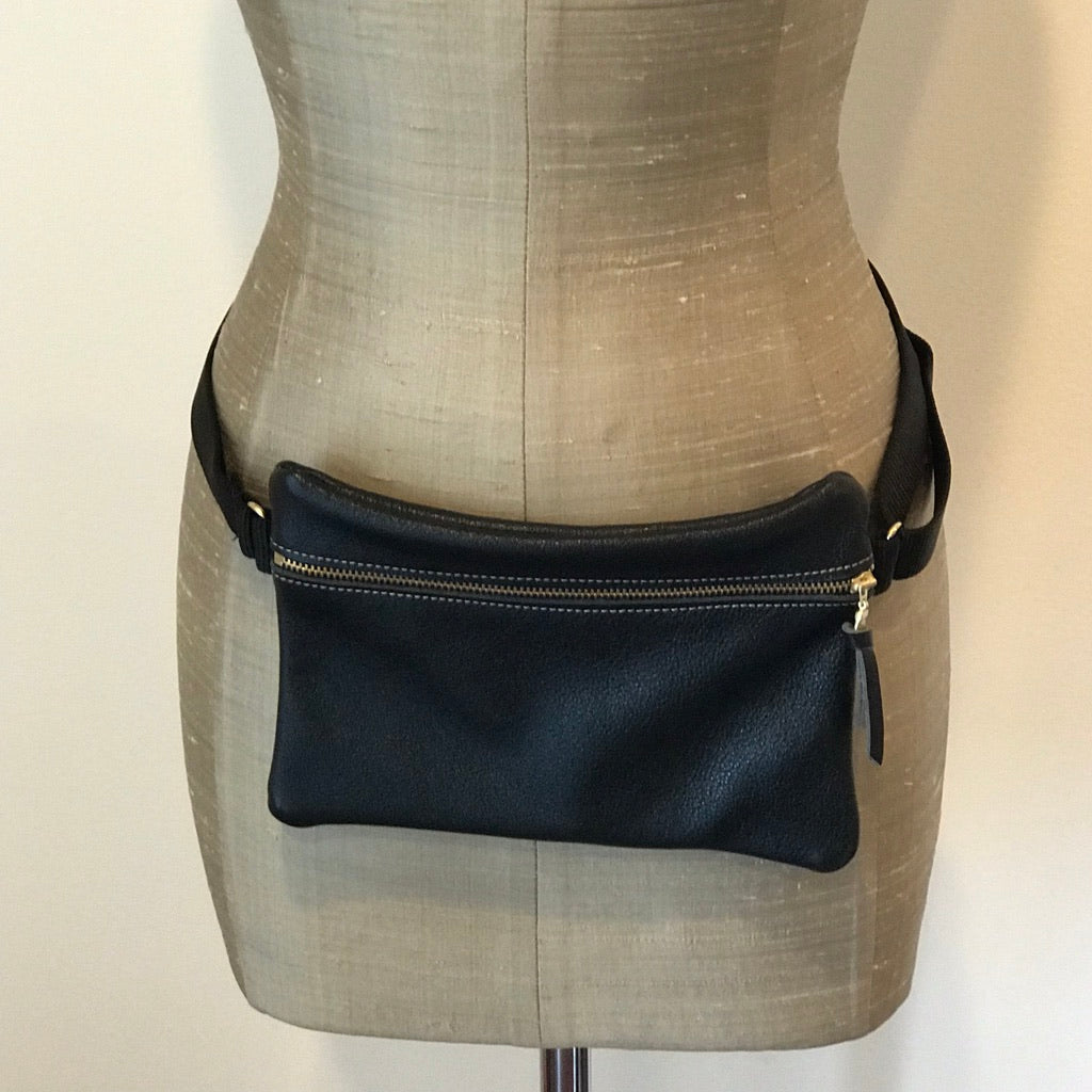 Zina Kao Leather Vail Hip Bag