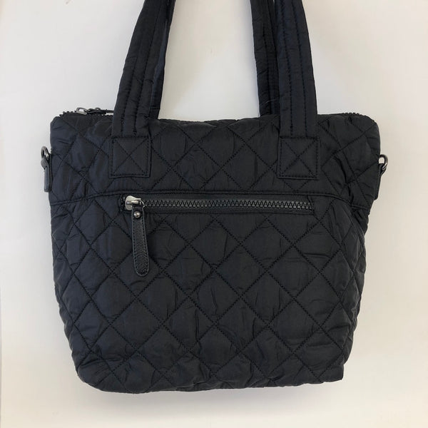 Diamond Quilted Nylon Shopper