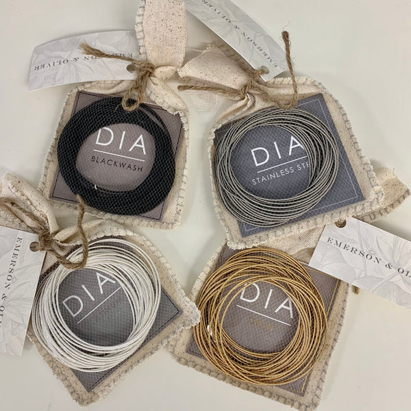 Set of 10 Dia Braclets