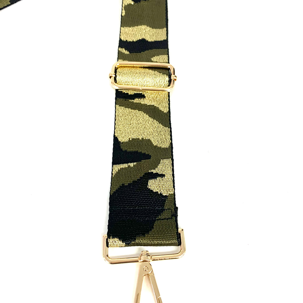 Camo Metallic Guitar Strap