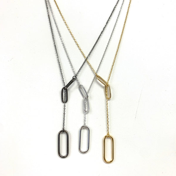 Paperclip Larriete Necklace