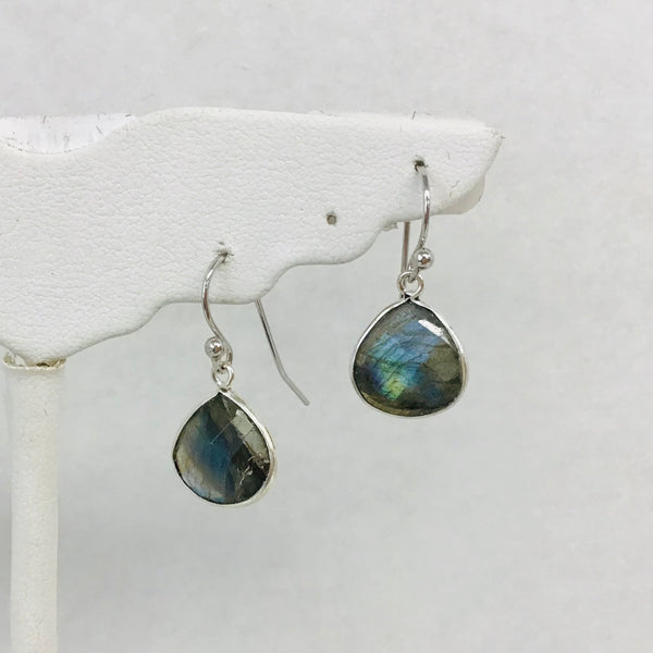 Sterling Silver Natural Stone Earrings