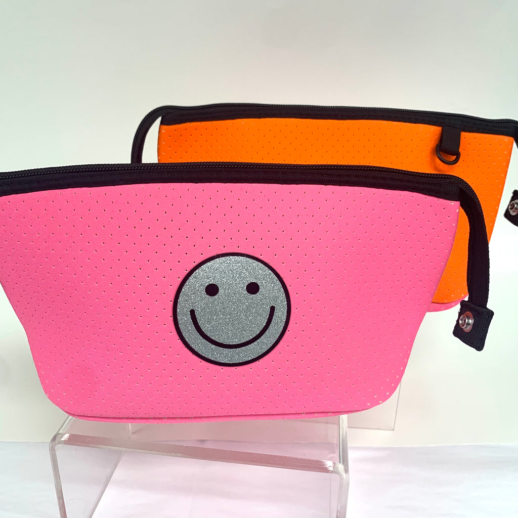 Neoprene Cosmetic Zip Pouch