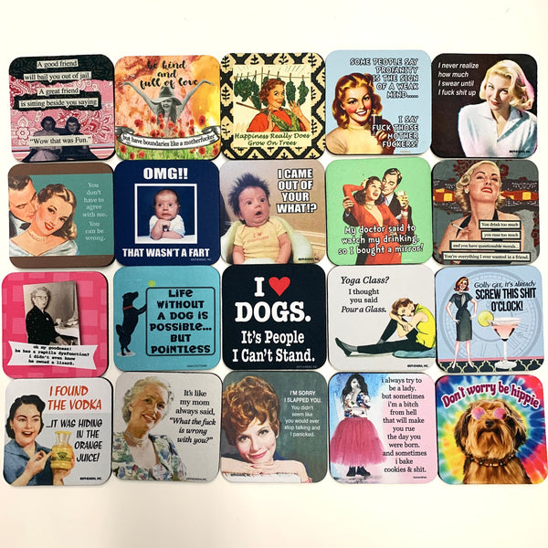 Hysterical Sayings Coasters