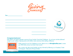 Printable Gift Membership Notification Letter