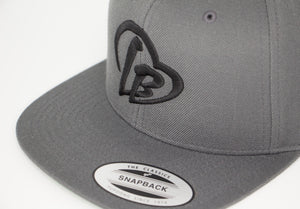 Gray Long Beach Hat