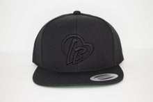 Load image into Gallery viewer, All Black Long Beach Hat