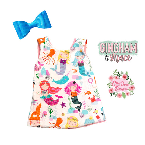 TOP ONLY - Under the Sea Pinafore