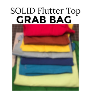 Flutter Sleeve Grab Bag - Solid Color