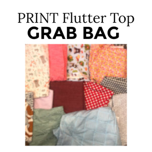 Flutter Sleeve Grab Bag - Print