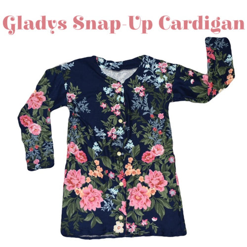 Gladys Snap-Up Cardigan