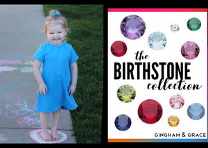 Birthstone T-Shirt Dress