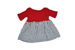 Queen of Hearts Babydoll Top OR Dress