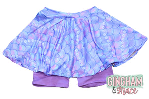 Mermaid Skirted Bottoms- Choose Length
