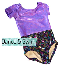Load image into Gallery viewer, Mermaids Are Real Dance & Swim Leotard