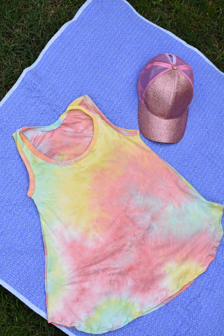 Captiva Ladies Flowy Tank