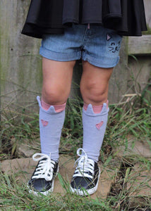 Kitten Knee High Socks