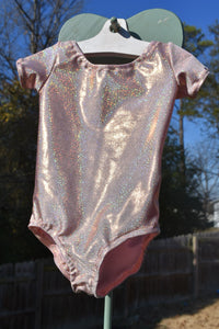 Rose Gold Leotard