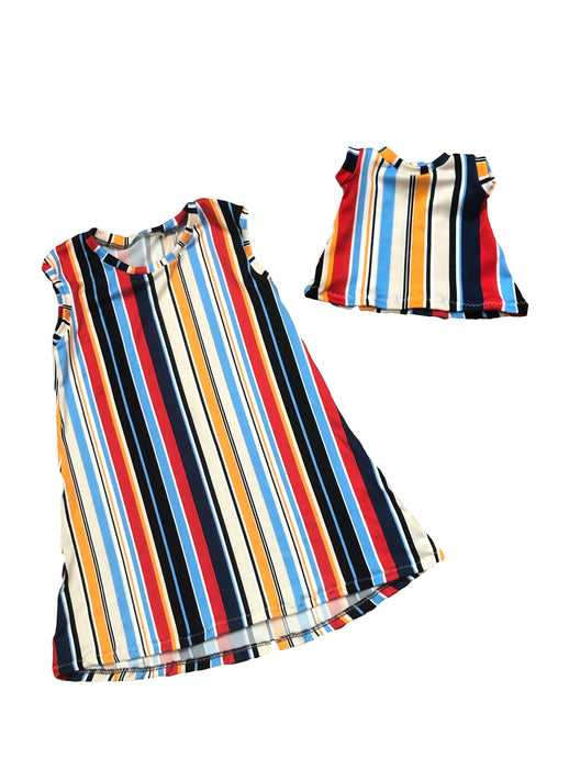 Sasha Stripe DOLL DRESS