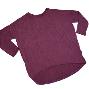 Burgundy Sweater Ladie's Tunic