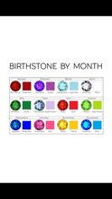 Load image into Gallery viewer, Birthstone Face Masks
