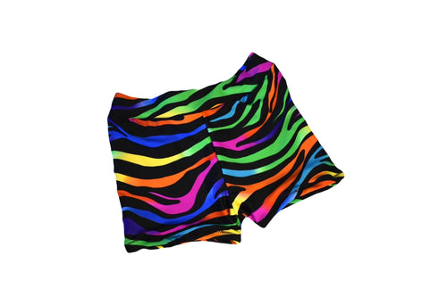 Neon Tiger Active Shorties