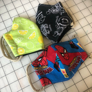 Masks - Women & Kids, 25 fabrics
