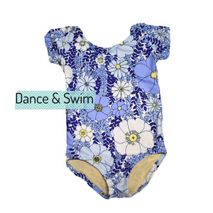 Pretty Periwinkle Dance & Swim Leotard