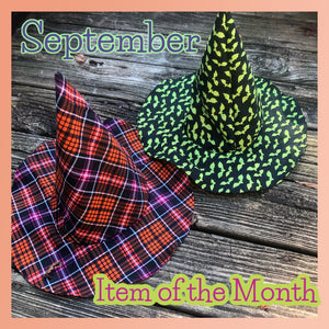 September Item of the Month- Floppy Witch Hat GRAB BAG