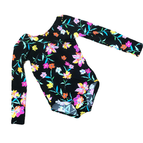 Dancing Floral Leotard