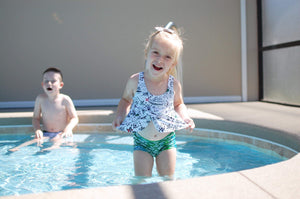 SUIT ONLY - Ahoy Matey Tankini Swim Suit