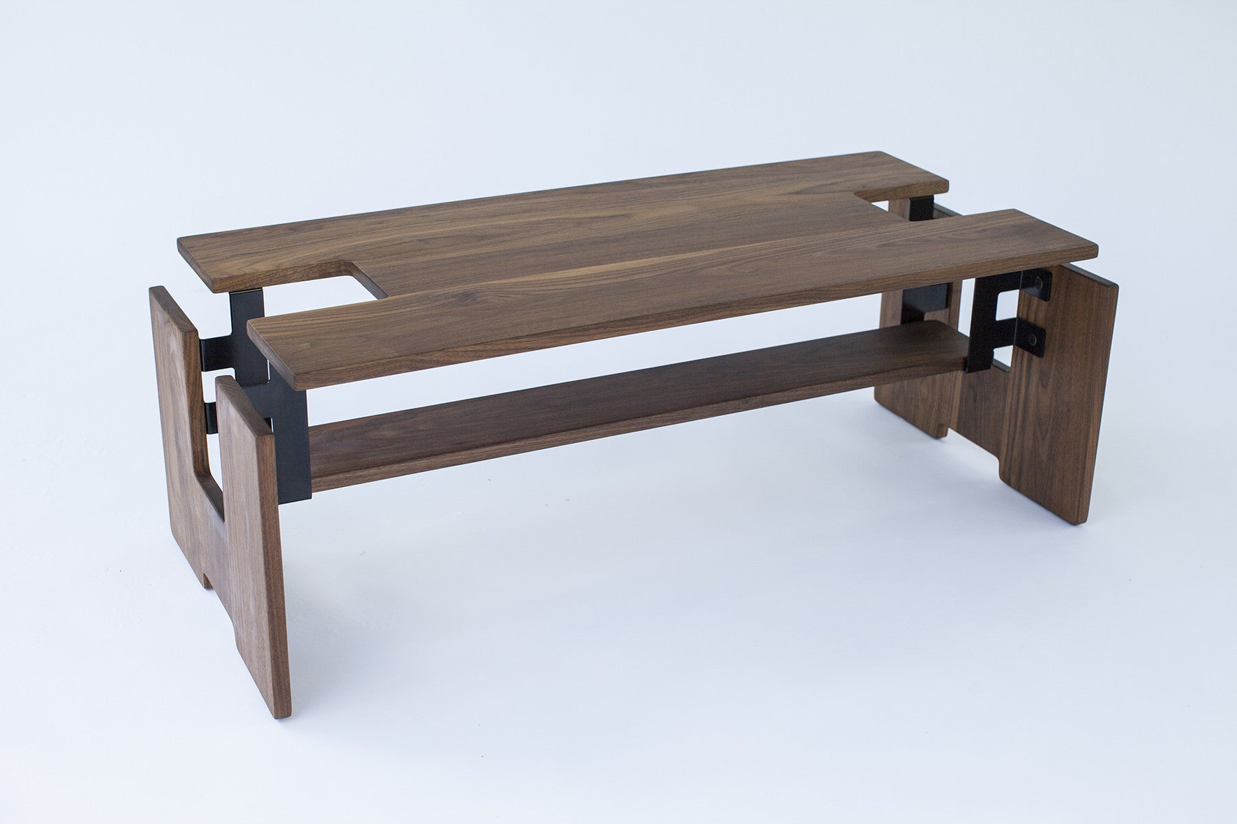 Exploded Coffee Table W/Shelf   Slice Furniture