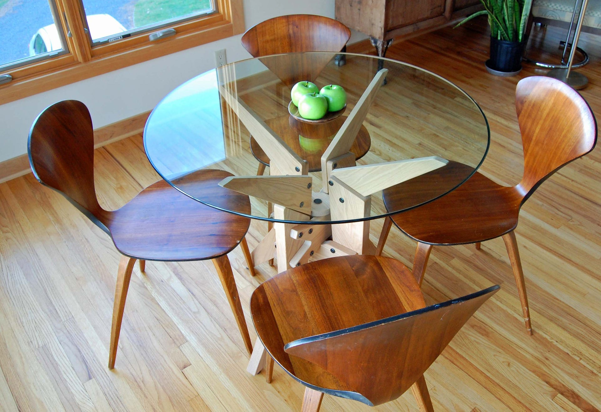 Atlas Dining Table Base - Slice Furniture