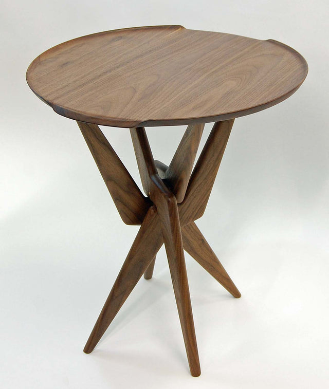 Atlas Side Table Base w/Tray Top - Slice Furniture