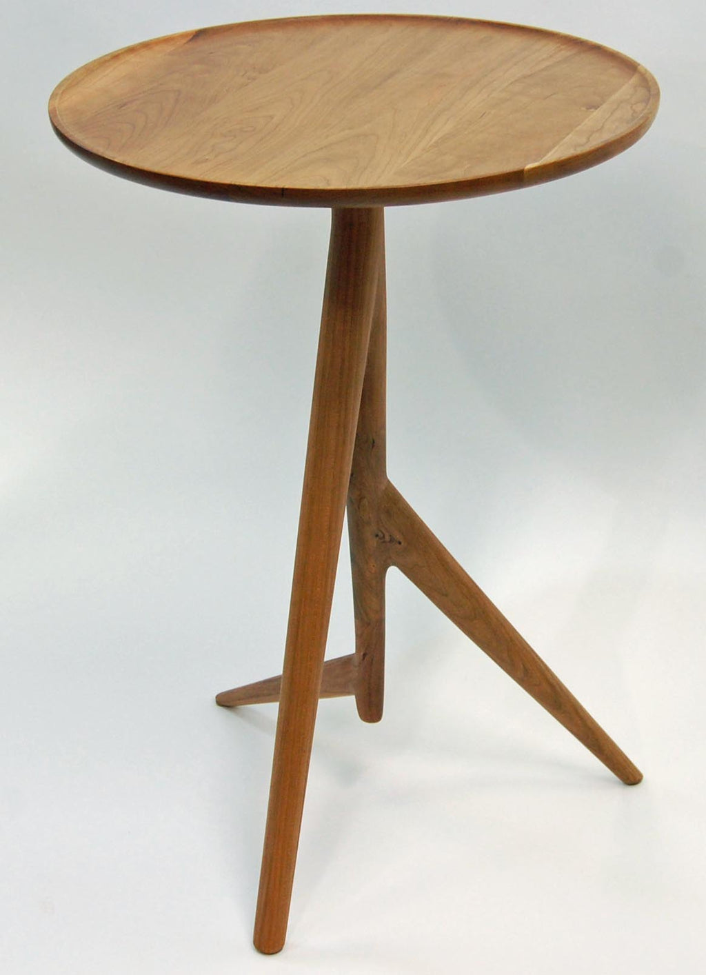 Twig Side Table in Cherry - Slice Furniture