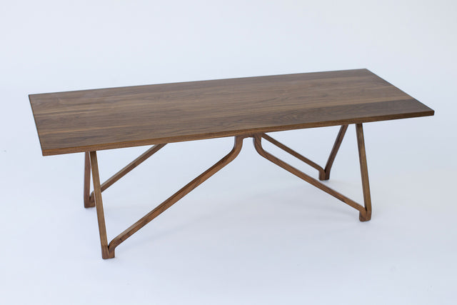 Squarepin 16A-W Leg Coffee Table - Slice Furniture