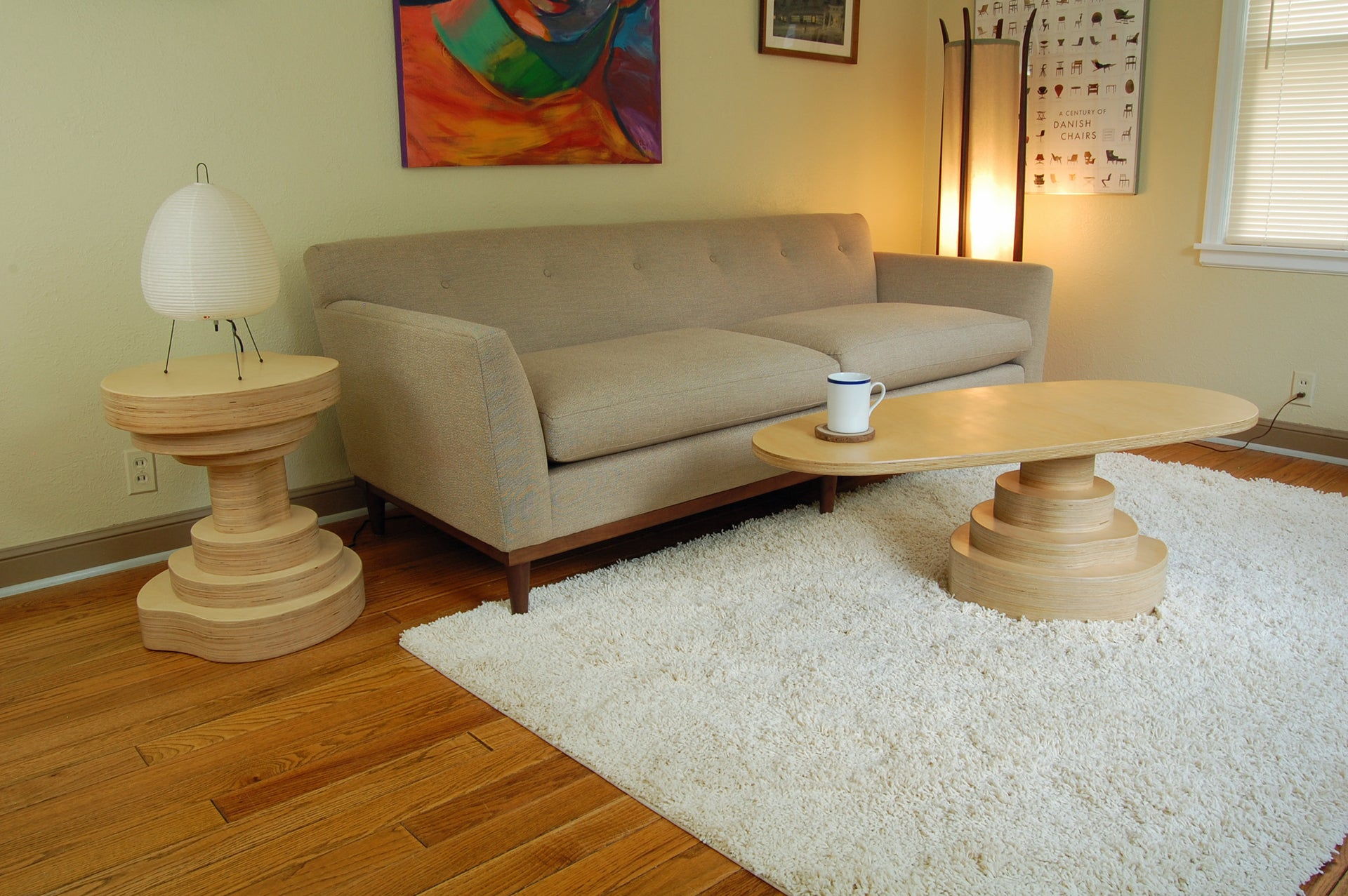 Mushroom Coffee Table - Slice Furniture