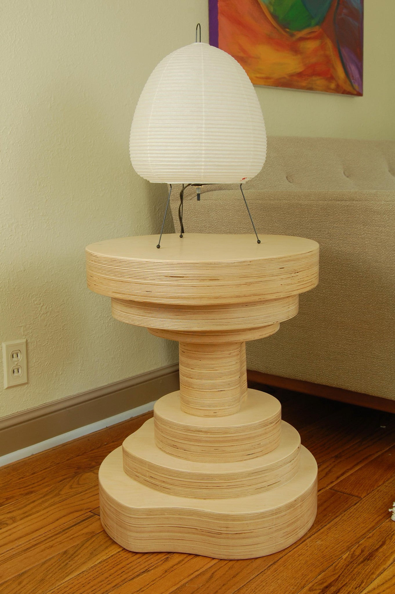 Mushroom Side Table - Slice Furniture