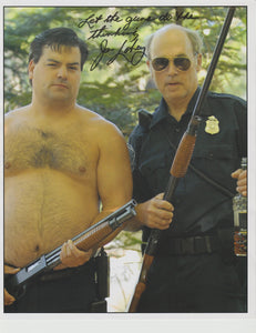 Signed photo of John Dunsworth as Mr. Lahey - signed by John Only