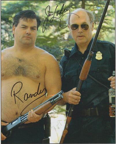 Signed photo of John Dunsworth and Pat Roach