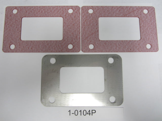 Stainless Steel Block Off Package 1-0104P