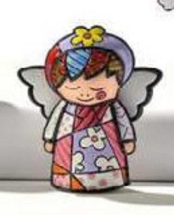 ROMERO BRITTO MINI 1ST EDITION ANGEL GIRL