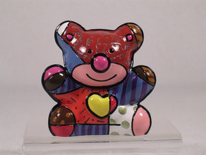 ROMERO BRITTO MINI 1ST EDITION LOVE BEAR