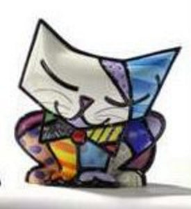 "ROMERO BRITTO MINI 1ST EDITION CAT ""SUGAR"""