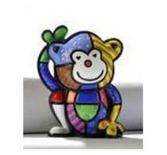ROMERO BRITTO MINI 1ST EDITION MONKEY