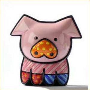 "ROMERO BRITTO MINI 1ST EDITION PIG ""PEARLE"""